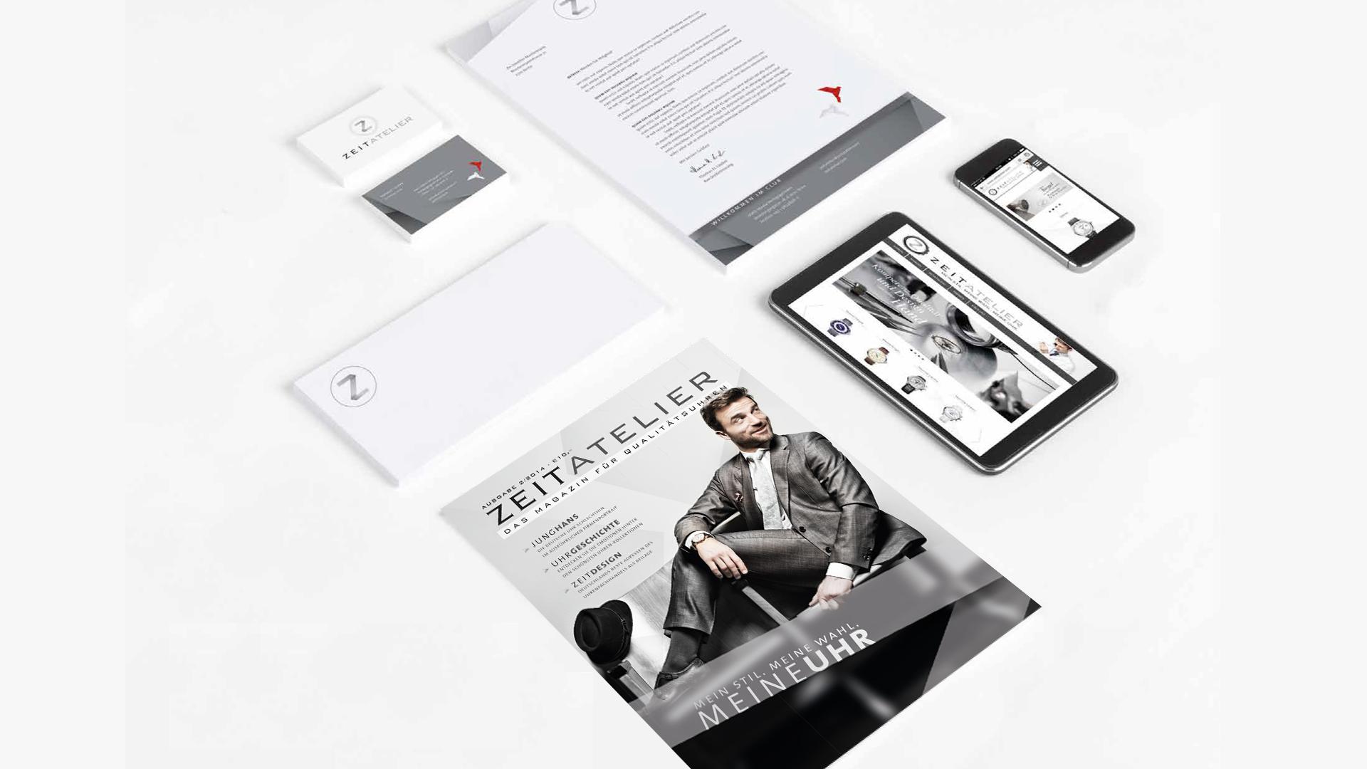 zeitatelier corporate design